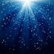 2eaf1shutterstock_66392197----Kar-ve-yildizlar-mavi-isik-isinlari-arka-plan-uzerinde-dusuyor
