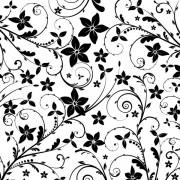 3ffe3shutterstock_13905268----Siyah-dallar-ve-cicekler---arka-plan