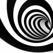 5958bshutterstock_64190875--Siyah-beyaz-girdap-veya-tunel---3D