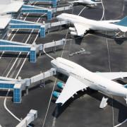 6115ashutterstock_136393988--Minyatur-havaalaninda-Modern-beyaz-ucak-modelleri