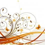 7bedeshutterstock_19658665----sonbahar-cicekleri-ve-kelebekler---vektorel