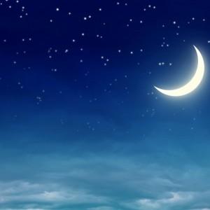 7f52fshutterstock-90708688--gece-gokyuzunde-parlayan-kucuk-yildizlar-ve-ay