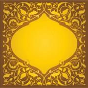 83a61shutterstock_132983942---Altin-renkli-zeminde-islami-floral-desenler