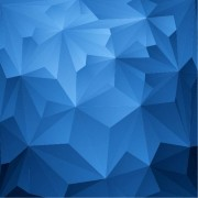 89a3bshutterstock_163560887---Mavi-ucgenler-geometrik-Background---vektorel