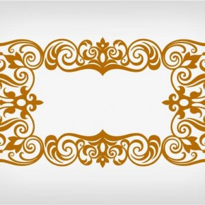 a589fshutterstock_182591597---antik-barok-tarzi-dekoratif-hat-tasarimi---vektorel