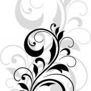 ad2feshutterstock_99767168-[Donusturulmus]_421_600-Siyah-floral-desen-v-golgesi---vektorel
