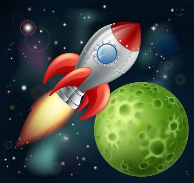 Uzay Arka Plan Ve Gezegenler Noa Gergi Tavan Izmir Germe Tavan Ve