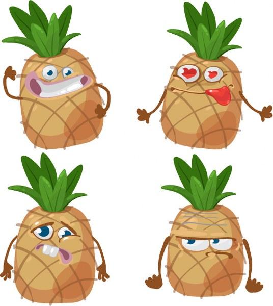 e58c7shutterstock_220601023---Ananas-karikaturleri---vektorel