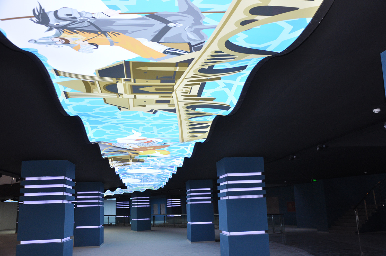 anasayfa_Zindankale Müzesi-Uv dijital baskılı membran uygulaması